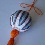 <!--:en-->Blue and orange Temari<!--:--><!--:ru-->Сине-оранжевый тэмари<!--:-->