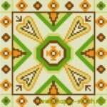 <!--:en-->Green and orange cushion chart<!--:--><!--:ru-->Подушка зеленая с оранжевым<!--:-->