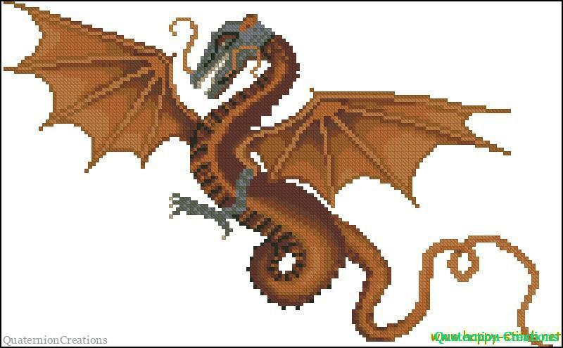 Вышивка крестом схемы как приручить дракона 15