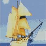 "<!--:en-->A ship in the sea chart<!--:--><!--:ru-->Схема для вышивки ""Корабль""<!--:-->"