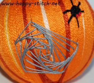Halloween temari: the web