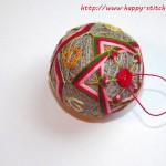 <!--:en-->New Year star temari<!--:--><!--:ru-->Новогодний тэмари с вышивкой<!--:-->