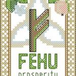 <!--:en-->Rune Fehu (Cattle) – prosperity (cross stitch pattern)<!--:--><!--:ru-->Руна Феху (Fehu) – домашние животные (скот), схема для вышивки<!--:-->