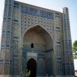 Samarkand Bibi Khanym Mosque (photo by Doron)