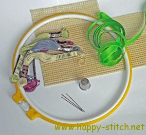 Cross stitching accessories