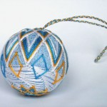 Samarkand Sunrise temari ball