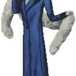 "<!--:en-->Lady Iris cross stitch chart<!--:--><!--:ru-->Схема для вышивки ""Леди Ирис""<!--:-->"