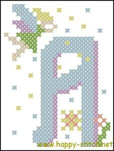 Fairy alphabet A