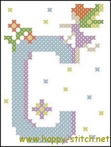 Fairy alphabet C