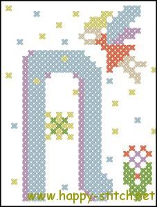 Fairy alphabet N