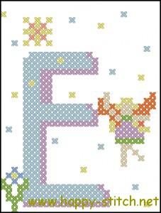 Fairy alphabet E