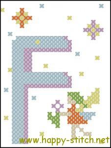 Fairy alphabet F