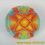<!--:en-->Multi-layered temari with interwoven spindles<!--:--><!--:ru-->Многослойным тэмари с переплетениями<!--:-->