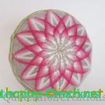 <!--:en-->Basic temari patterns: kiku (chrysanthemum)<!--:--><!--:ru-->Хризантема (кику): классический узор тэмари<!--:-->