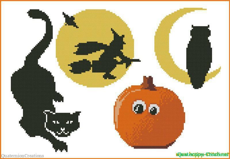 Маленькие схемы к Хеллоуину