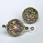 Temari earrings