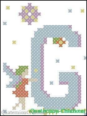Fairy Alphabet V   Happy Stitch