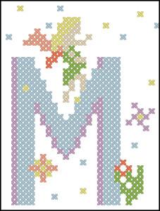 Fairy alphabet M