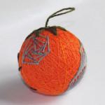 Halloween spider temari