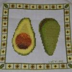 """<!--:en-->Avocado chart live<!--:--><!--:ru-->Вышитая схема """"авокадо""""<!--:-->"""
