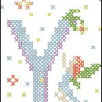 "<!--:en-->Fairy alphabet patterns: S, O, and Y<!--:--><!--:ru-->Схемы для вышивки крестом ""Волшебный алфавит"", буквы S, O и Y<!--:-->"