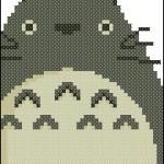 "<!--:en-->Totoro bookmark cross stitch pattern<!--:--><!--:ru-->Схема для вышивки закладки ""Тоторо""<!--:-->"