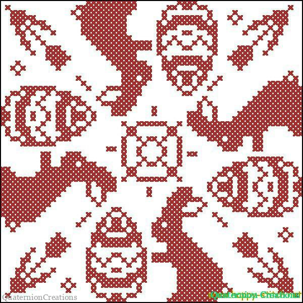 Схема для вышивки бискорню