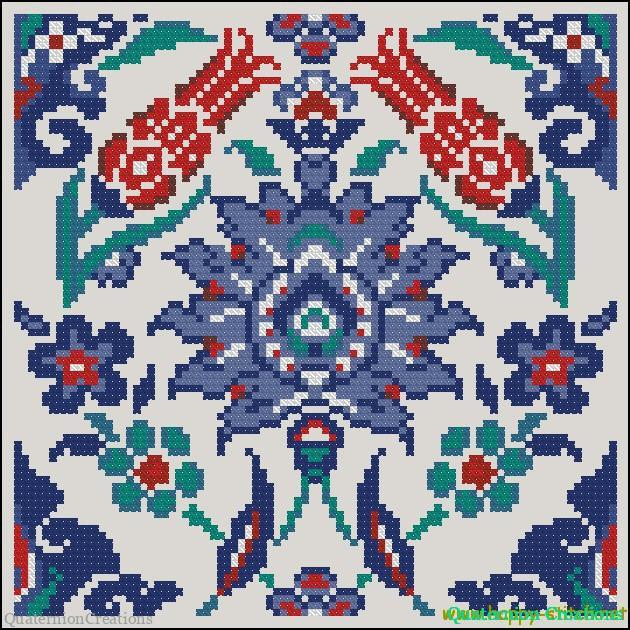 Схемы вышивок восточных мотивов