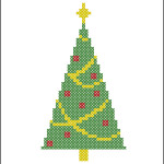 Simple Christmas tree pattern