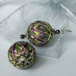 Temari earrings