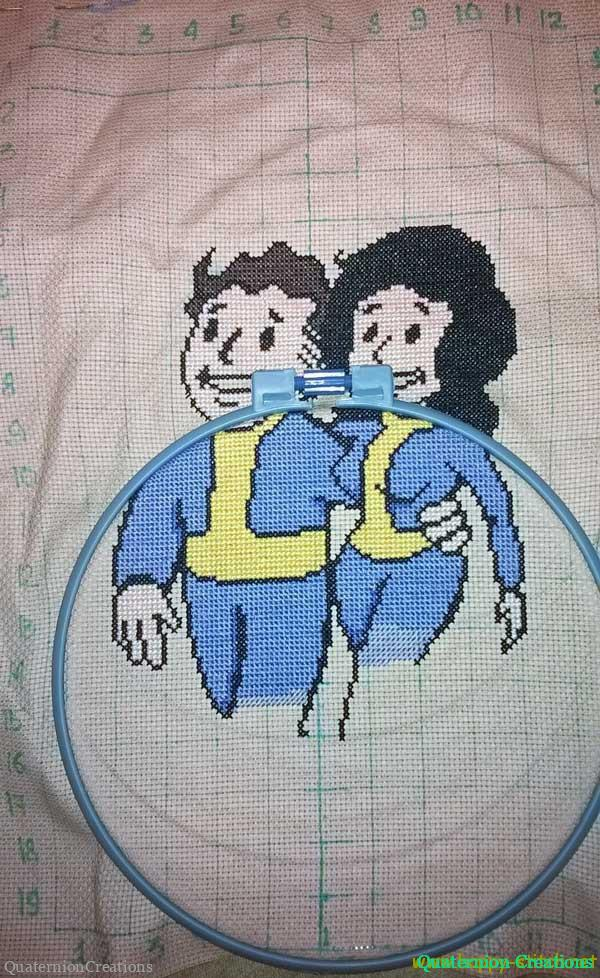 Work in progress: Vault Boy and girl