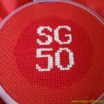 SG50 stitched by Craftty Craken