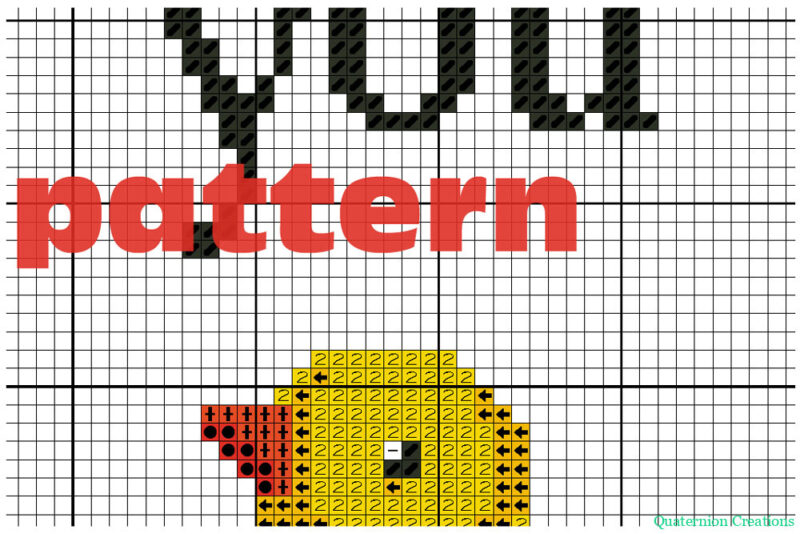 Duck you - modern subversive cross stitch pattern