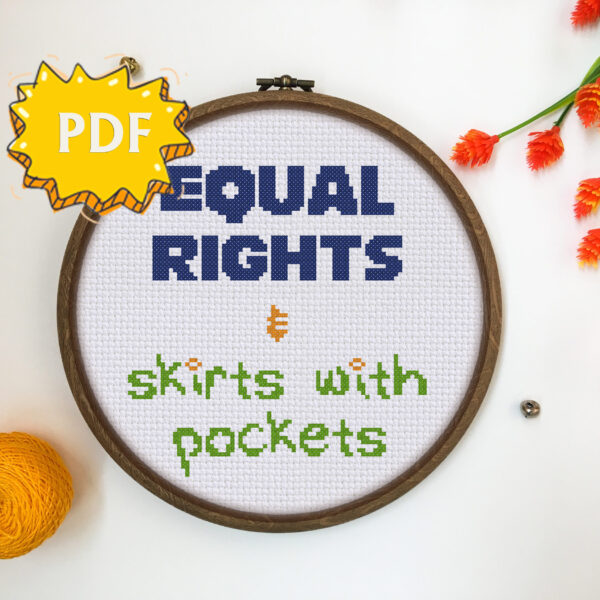 Equal rights and skirts with pockets
