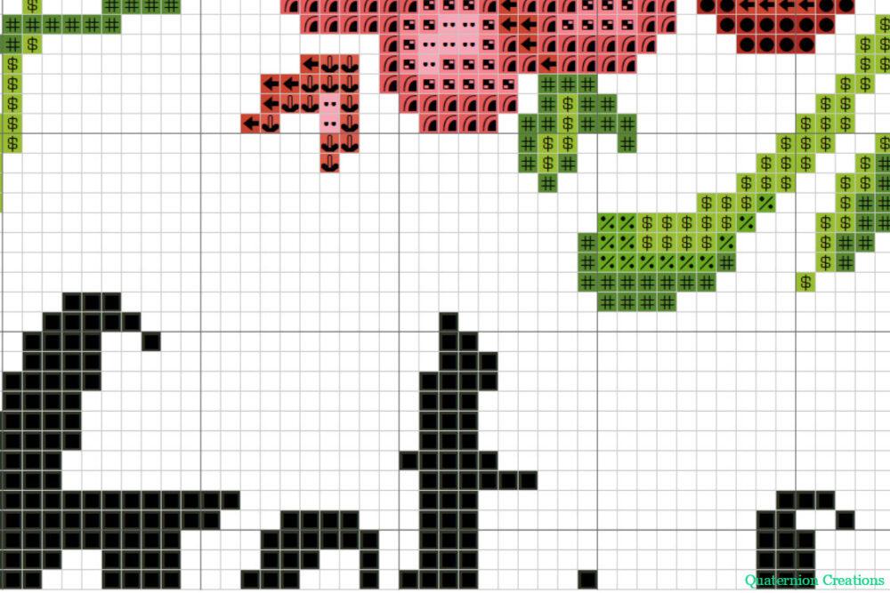 Get Shit Done motivational cross stitch pattern