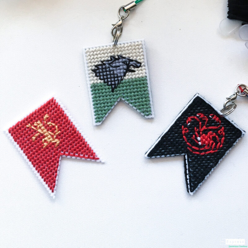 Game of Thrones cross stitch sigils