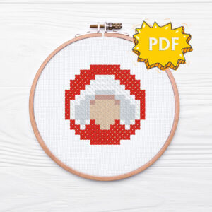 Handmaid's Tale cross stitch pattern